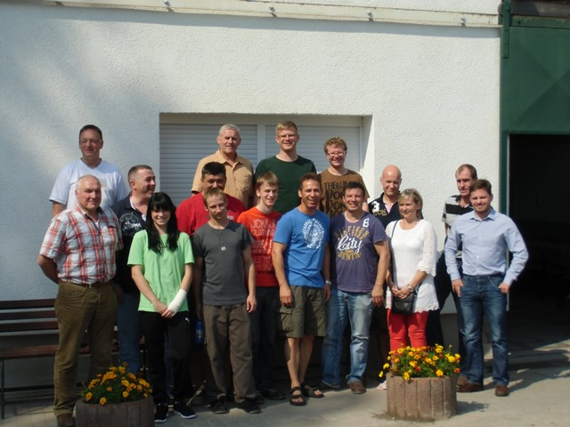 Teilnehmer Lehrgang