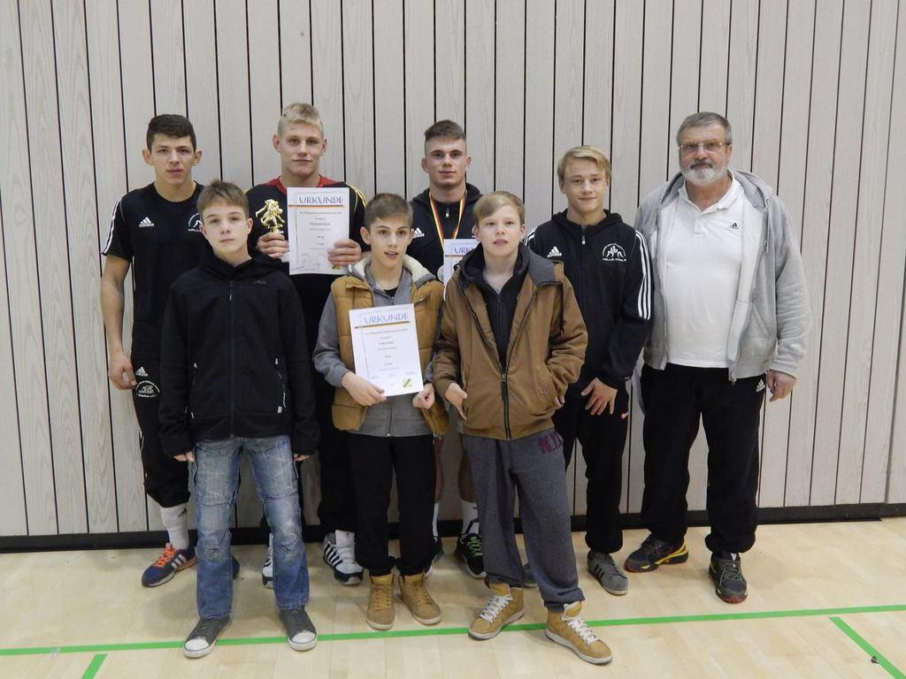 3 Medaillen für den LRV S-A beim Kader-Turnier des DRB