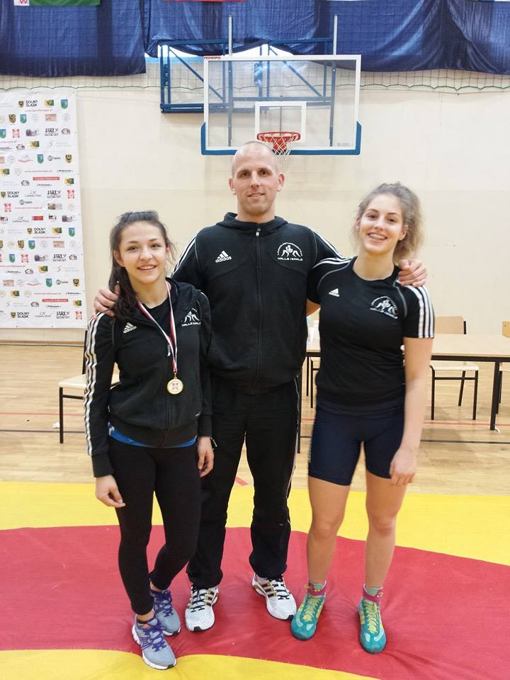 "Gold für Anastasia Blayvas bei den ""Czarny Bor Open 2014"" in Polen"